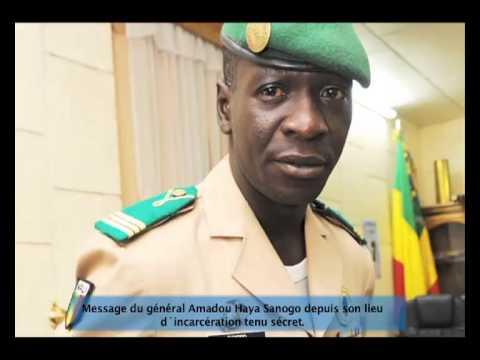 Message du général Amadou Haya Sanogo depuis son lieu d´incarcération [audio]