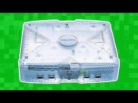 Купил редкий прозрачный Xbox на Avito