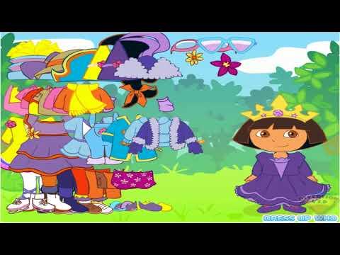 Vistiendo a Dora la exploradora
