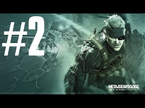 Metal Gear Solid 4 : Guns Of The Patriots - Playthrough #2 Fr - Rat Patrol Team 01 video