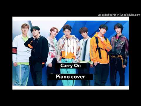 Download sheet Monsta X - Carry On piano cover Mp4 baru