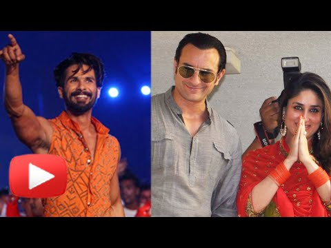 Saif Ali Khan & Kareena Kapoor Congratulate Shahid Kapoor For Wedding   Ipl Opening Ceremony 2015 video