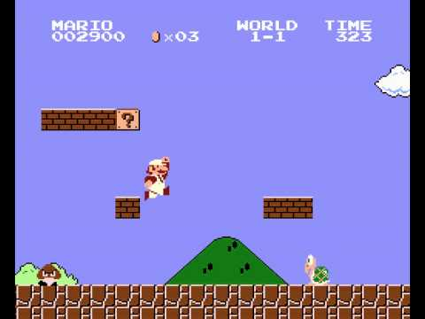 Super Mario Bros - Turbo Grafx - Music - User video