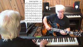 Yesterday I Heard The Rain - Jazz guitar & piano cover ( Gene Lees )