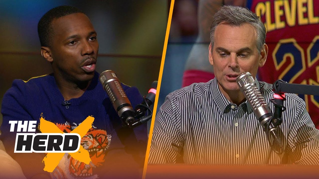 Klutch Sports Group founder Rich Paul joins Colin Cowherd in studio (Full Interview)   THE HERD