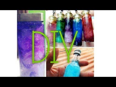 DIY Galaxias en botellas // Decora tu cuarto. - YouTube