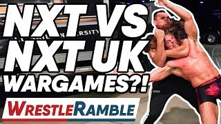 WWE NXT Vs. NXT UK War Games?! WWE NXT Sept. 18, 2019 Review! | WrestleTalk's WrestleRamble
