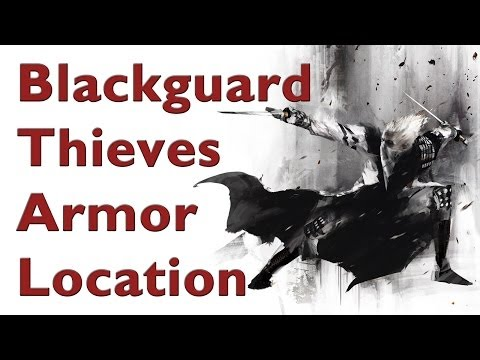 Skyrim - How to get Secret Blackguard Armor (Best Theves Guild set) - Youtube