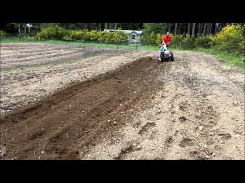 Making Raised Beds With the Berta Rotary Plow