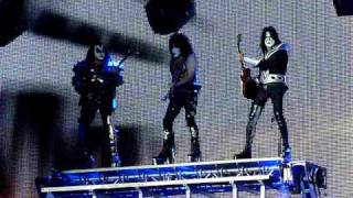 KISS Intro Modern Day Delilah  Liverpool Echo Arena 4th May 2010