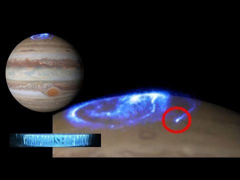 WHOA!!! NASA CAPTURES MASSIVE UFO OVER JUPITER Auroras!!? RUSSIA UFO DISPLAY 2016