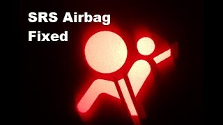How to Fix SRS Airbag Warning Light on Dashboard