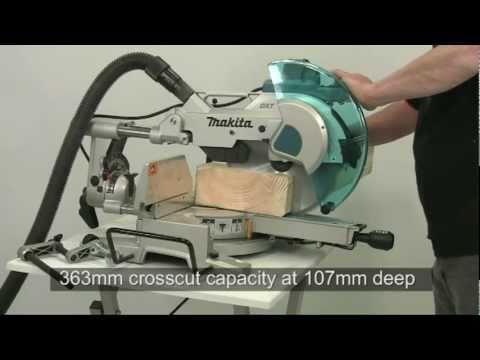 Makita How it Works. DXT Mitre Saws. LS1216L