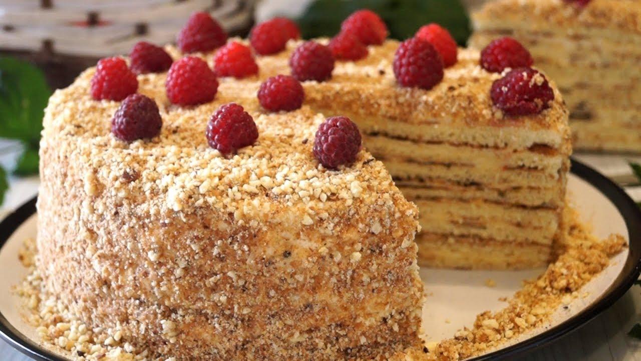Простой торт в домашних условиях рецепт без духовки
