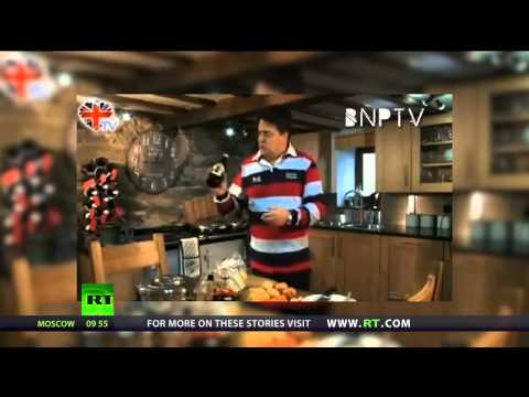 Forget Nigella, Nick Griffin is Britain's new domestic god!