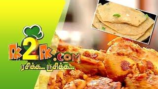 Bread Dosa & Chicken