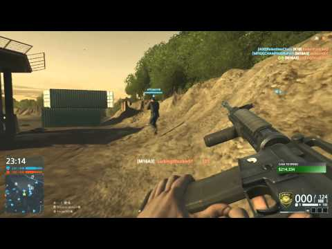 Battlefield Hardline Multiplayer TDM Gameplay - Switching Guns Mid-Game - Why I Upload Certain Games