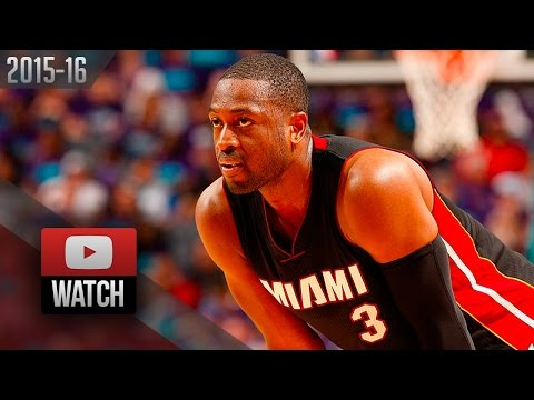 Dwyane Wade Full Highlights at Hornets 2016 Playoffs R1G6 - 23 Pts, CRAZY CLUTCH!