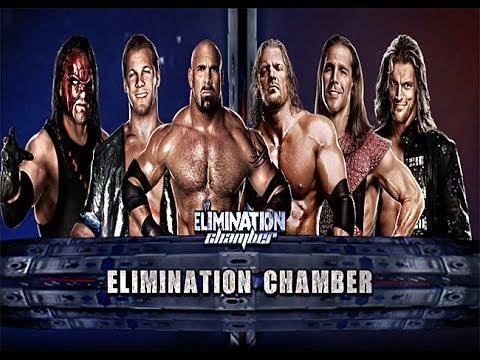 WWE 2K14: Elimination Chamber (Goldberg vs HHH vs HBK vs Kane vs Y2J vs Edge)