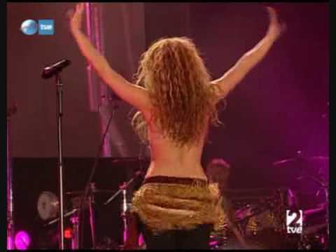 Shakira- Dancing video