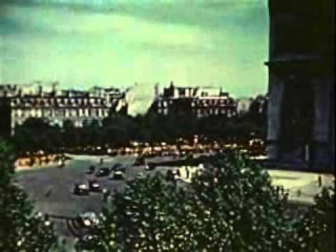 V-E DAY, PARIS AND LONDON, 1945