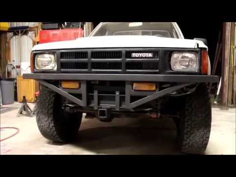 Homemade Front and Rear Bumpers-Toyota Pickup