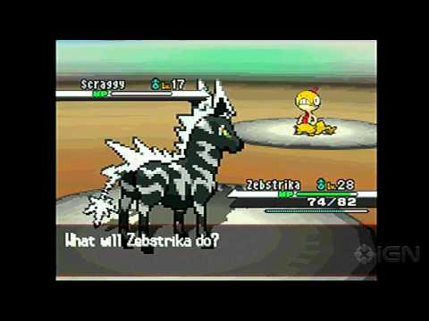 Pokemon Black: Victini Event with Liberty Pass Gameplay