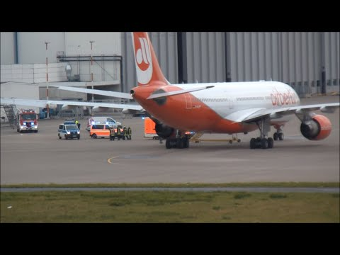 airberlin A330-200 [D-ALPF] Startabbruch wegen eines Medizinischen Notfalls Airport: Düsseldorf.