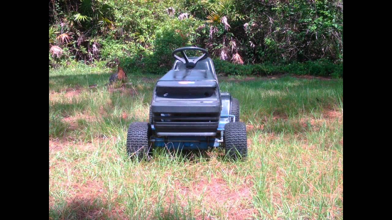 how to build a racing lawn mower
