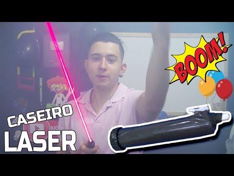 LASER EXTREMAMENTE POTENTE ( CASEIRO ) +FÁCIL IMPOSSÍVEL thumbnail
