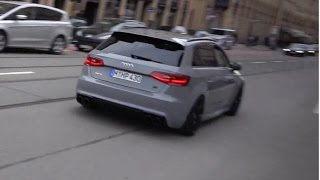 NEW Abt Audi RS3 - Accelerations & Launch Control