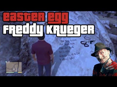 Easter Egg GTA 5 Freddy Krueger: La terrificante filastrocca by Doble