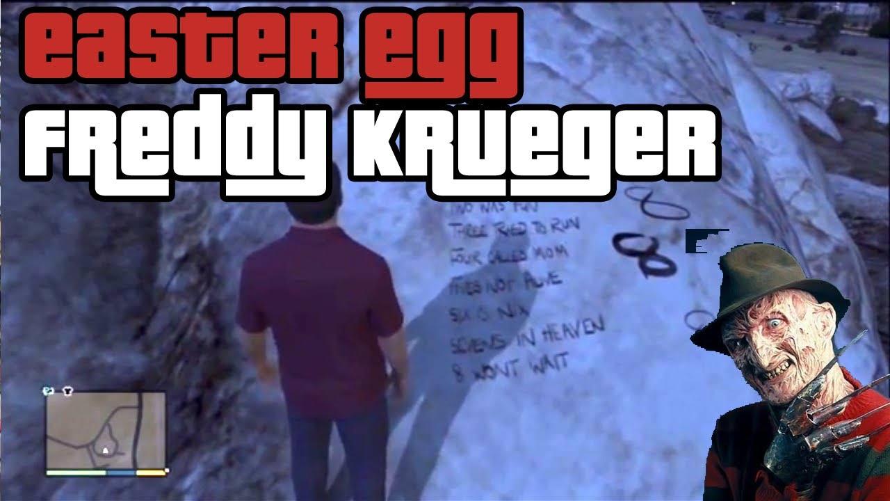 Gta v Freddy Krueger Easter Egg Easter Egg Gta 5 Freddy