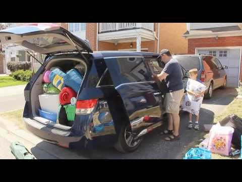 TEST DRIVE - The 2014 Honda Odyssey Touring Goes Camping