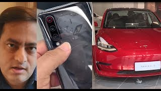 Mi 9 Transparent edition, Realme X camera samples, Tesla model S,X,3 and great wall of China