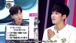 [VIETSUB] 161017 SEVENTEEN H?ng 1 di?n xu?t - Bad boy Jeon Wonwoo =))