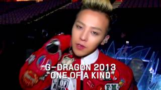 G-DRAGON 「ONE OF A KIND 3D ~G-DRAGON 2013 1ST WORLD TOUR~」Trailer