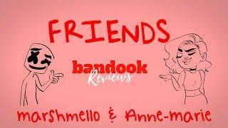 Marshmello & Anne-Marie - FRIENDS | bandook Review