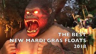 The best new Mardi Gras floats of 2018