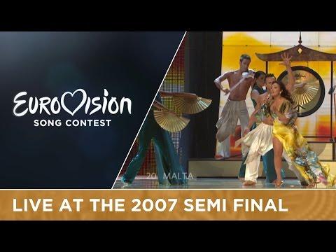 Olivia Lewis - Vertigo (Malta) Live 2007 Eurovision Song Contest
