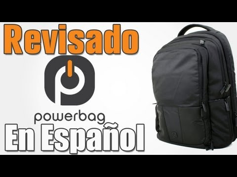 Review   PowerBag Mochila (Backpack) Con Bateria SUPER GEEK!!