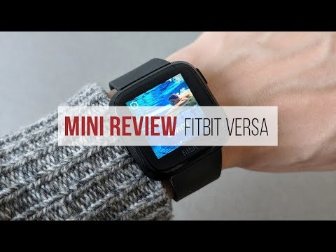 Review Fitbit Versa