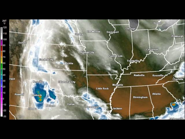 The Weather Report, Wednesday (7 am), June 6th, 2012