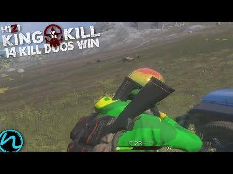 H1Z1 KOTK - 14 Kill Duos Win with Pidgey!