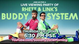 Rhett Links Buddy System Live Viewing Party
