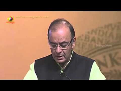 Finance Minister Arun Jaitley Addresses at RBI's 80 years celebrations