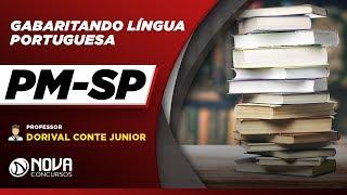 PM-SP 2019 - Gabaritando Língua Portuguesa