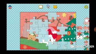 Hello Kitty Christmas Fun Jigsaw Puzzle Video For Kids Apps Gameplay