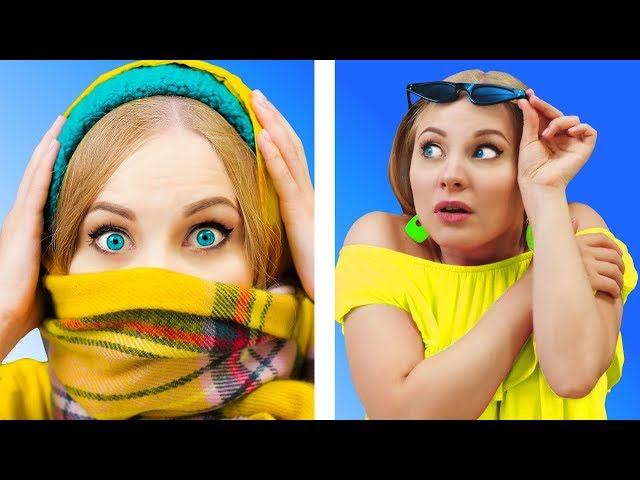 FUNNY WEATHER FAILS  Relatable facts by 5-Minute FUN