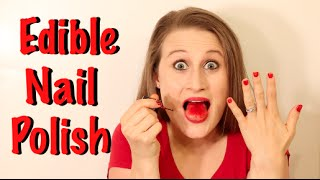 How To Make Edible Nail Polish That Really Works!!!
